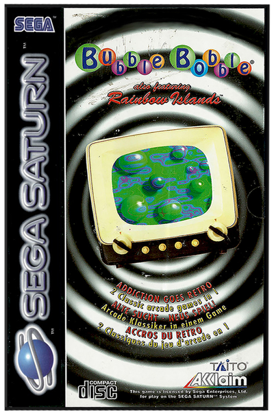 Bubble bobble also featuring rainbow islands (europe)