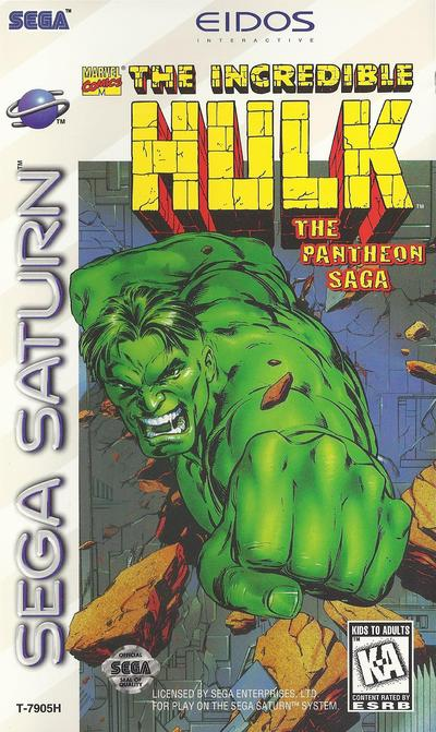 Incredible hulk, the   the pantheon saga (usa)
