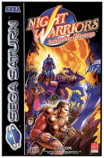 Night warriors   darkstalkers' revenge (europe)