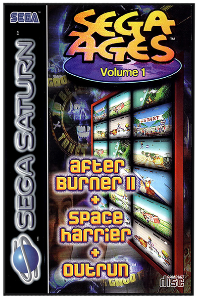 Sega ages volume 1 (europe)