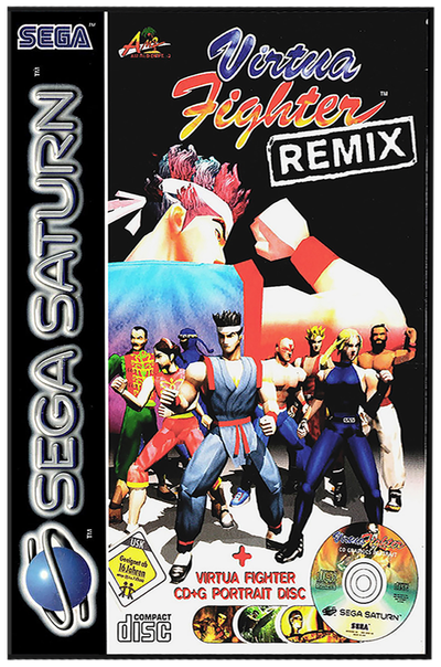 Virtua fighter remix (europe)