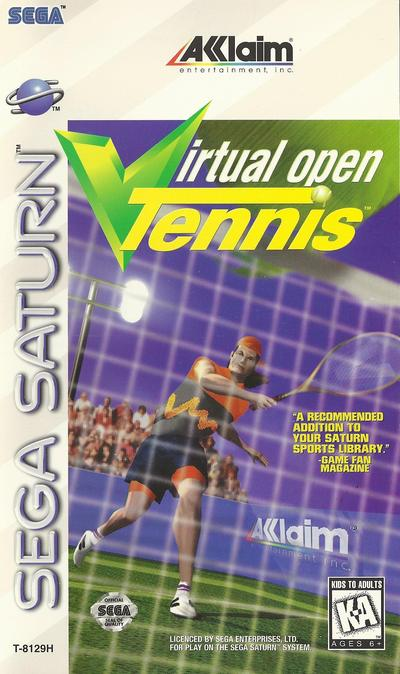 Virtual open tennis (usa)