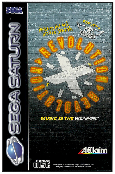 Revolution x   music is the weapon (europe)